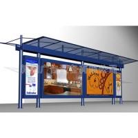 公交候车亭站台专业生产厂家批量生产价格低