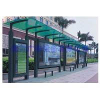 镀锌板公交候车亭站台批量生产,批发价出售