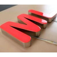 树脂发光字厂家,承接发光字招牌制作和安装!