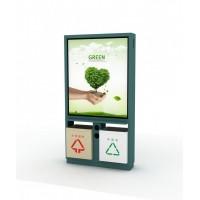 四分类垃圾箱分类更明确,环境更卫生